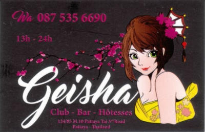 geisha card