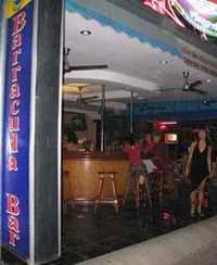 Barracuda bar frontage