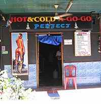 Hot & Cold frontage