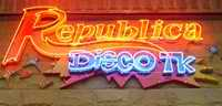 Republica Disco TK neon