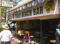 Tiger Beach Bar frontage