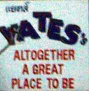 Yates's bar sign