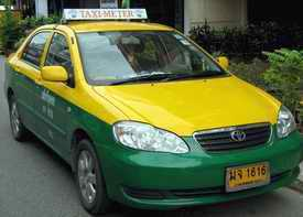 Pattaya Metered Taxi